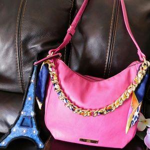 Beautiful  liz Claiborne pink shoulder bag